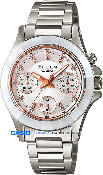 SHE-3503SG-7AER, Casio Sheen