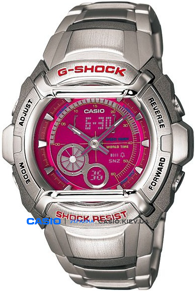 G-500FD-4A, Casio G-Shock
