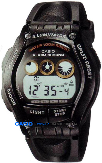 W-754H-1A, Casio Standard Digital