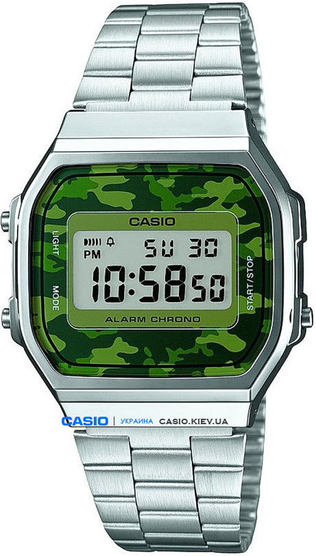 A168WEC-3EF, Casio Standard Digital
