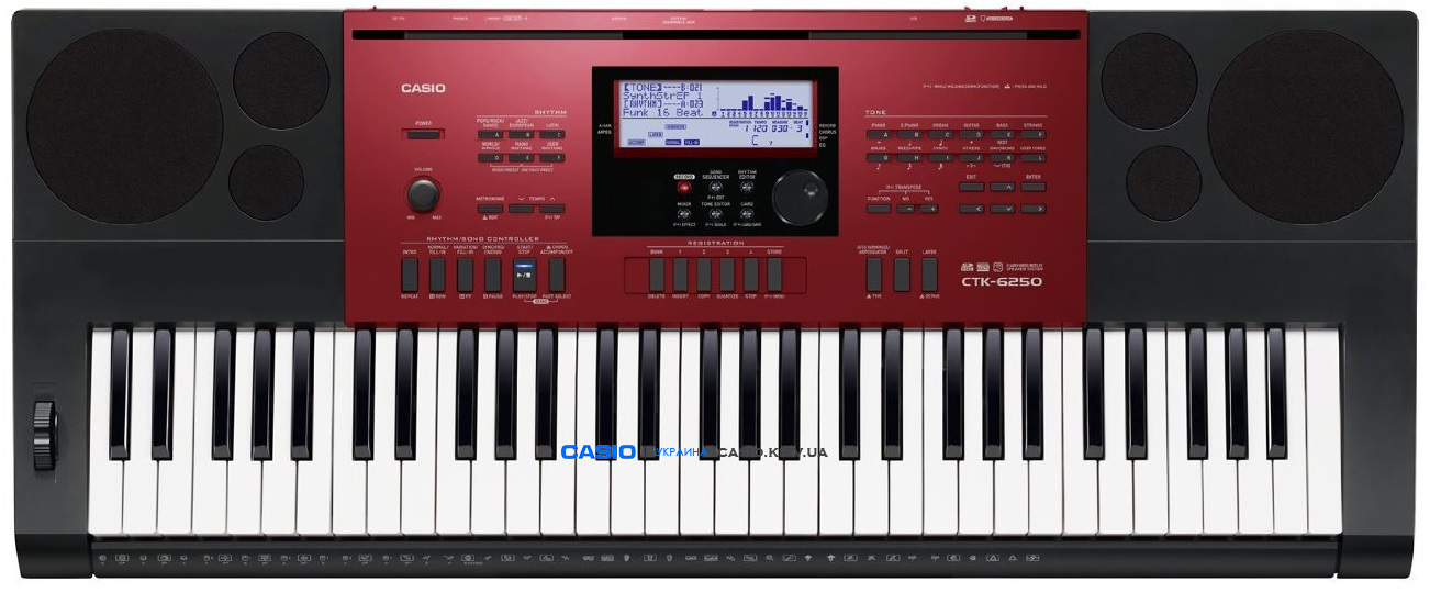 Синтезатор CASIO CTK-6250K7