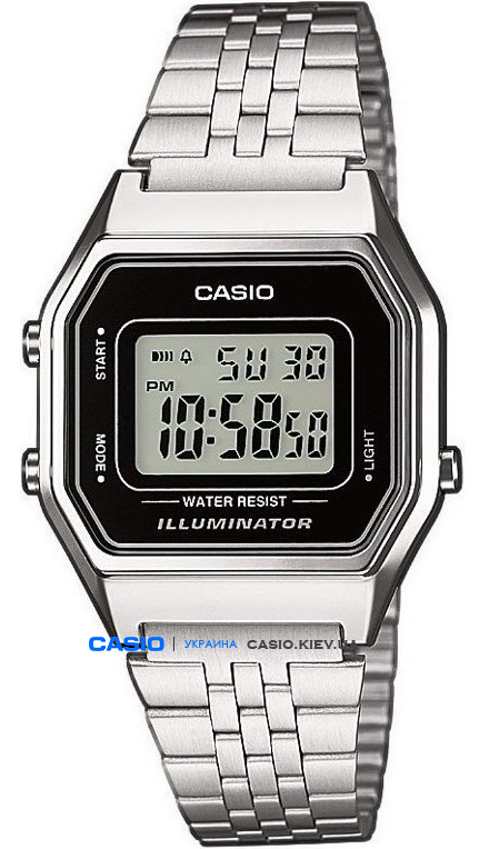 LA680WEA-1EF, Casio Standard Digital