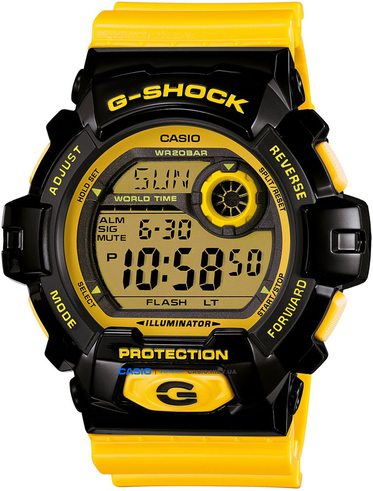 G-8900SC-1Y, Casio G-Shock