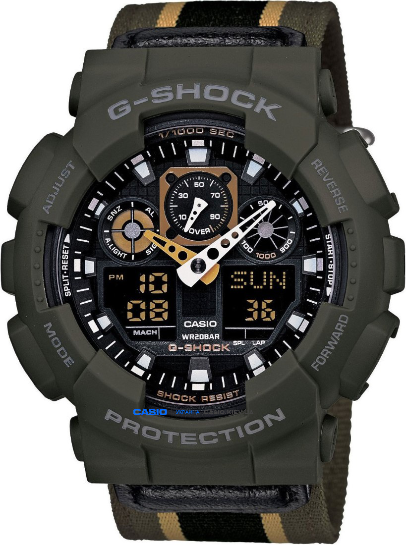 GA-100MC-3A, Casio G-Shock