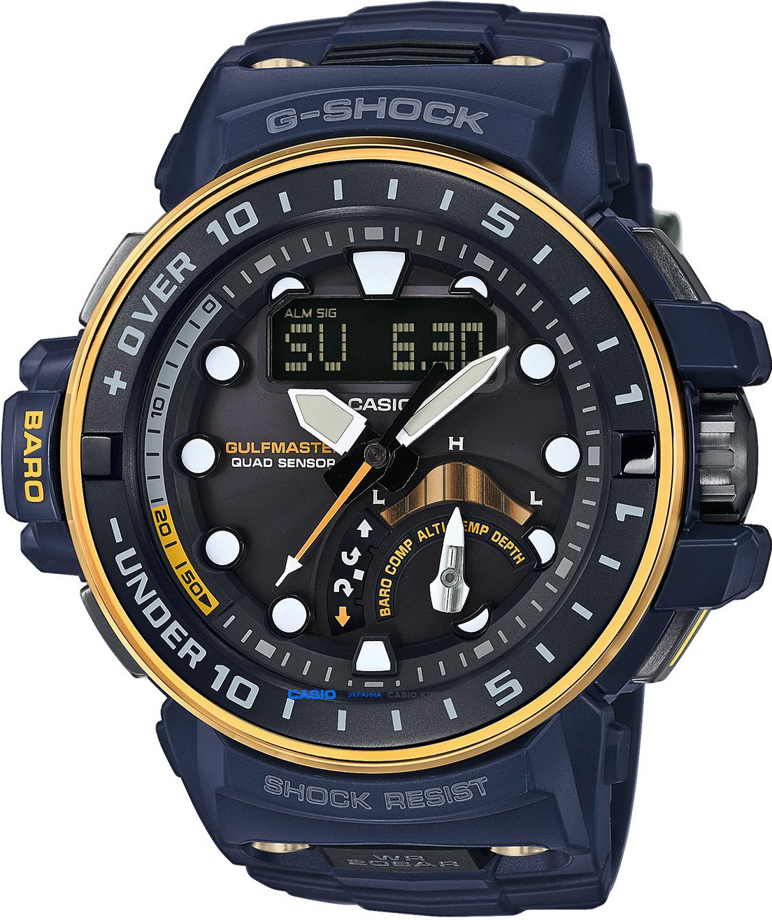 GWN-Q1000NV-2AER, Casio G-Shock