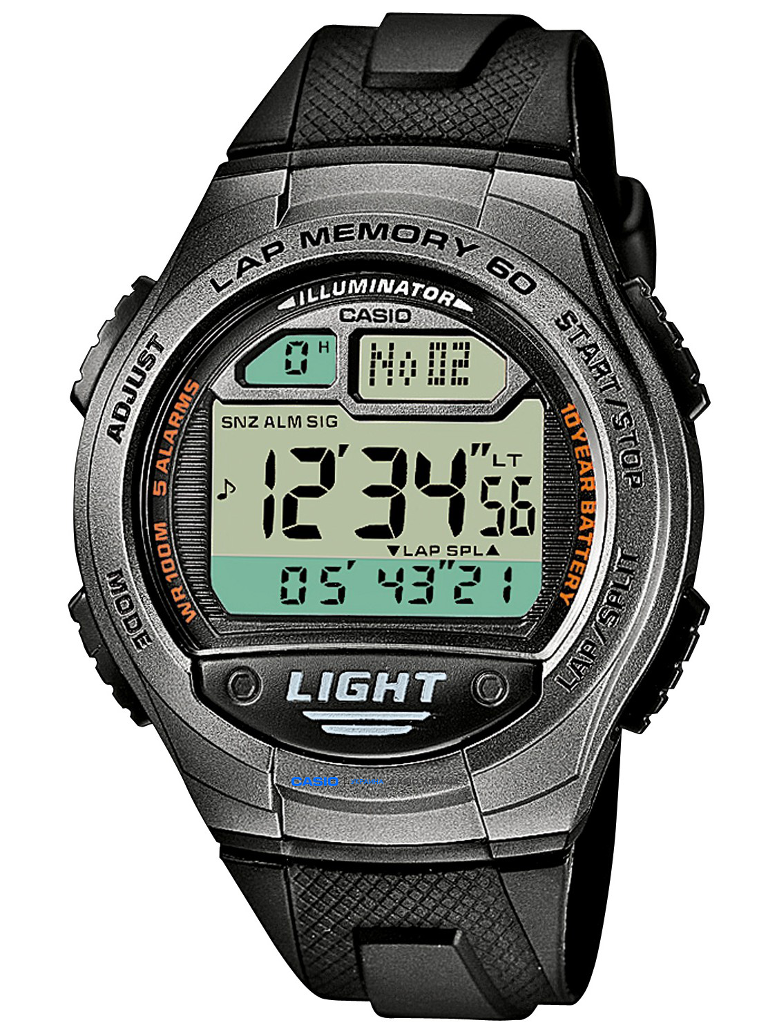 W-734-1AVEF, Casio Standard Digital
