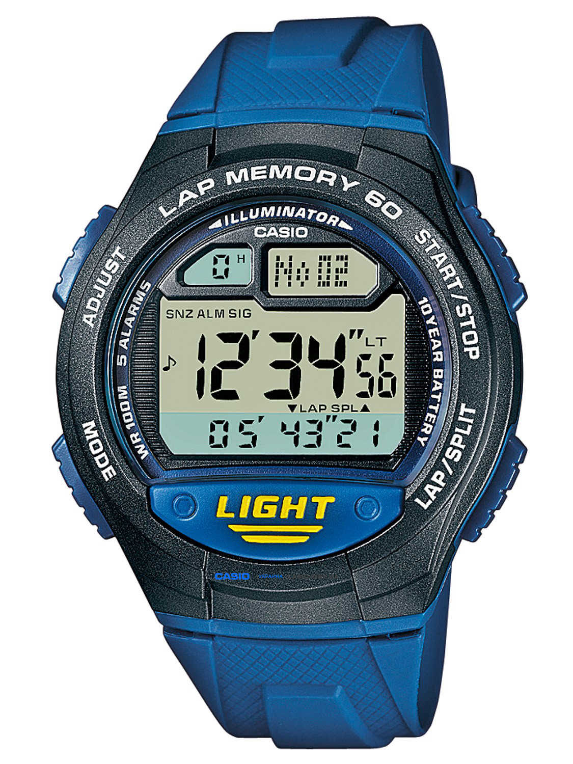 W-734-2AVEF, Casio Standard Digital
