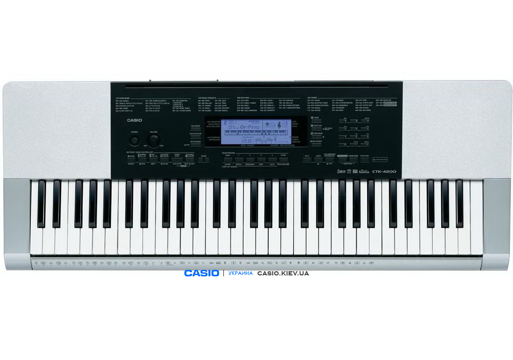 Синтезатор Casio CTK-4200