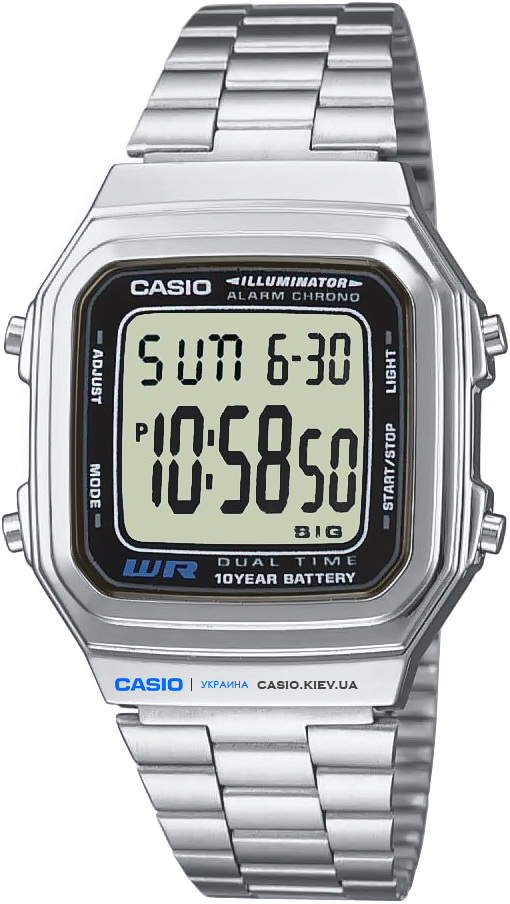 A178WEA-1A, Casio Standard Digital