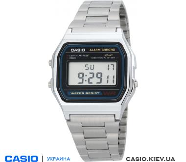 A-158WA77-1U, Casio Standard Digital