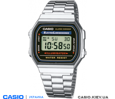 A-168WA-1UZ, Casio Standard Digital