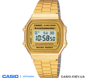 A-168WG-9UR, Casio Standard Digital