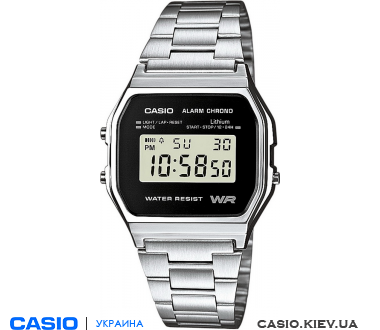 A158WEA-1EF, Casio Standard Digital