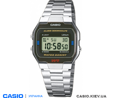 A163WA-1QGF, Casio Standard Digital