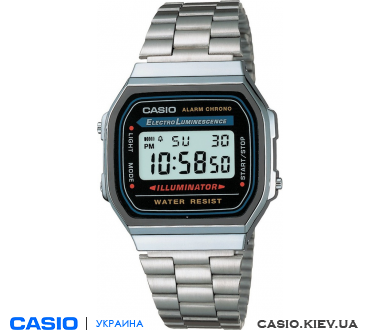 A168WA-1YES, Casio Standard Digital
