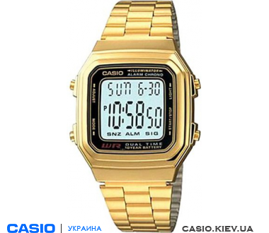 A178WGA-1ADF, Casio Standard Digital