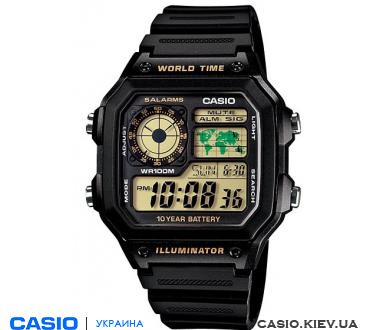 Инструкция Casio Ae-1200wh - фото 6
