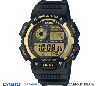 AE-1400WH-9AVEF, Casio Standard Analogue