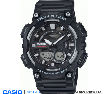 AEQ-110W-1AVEF, Casio Combination