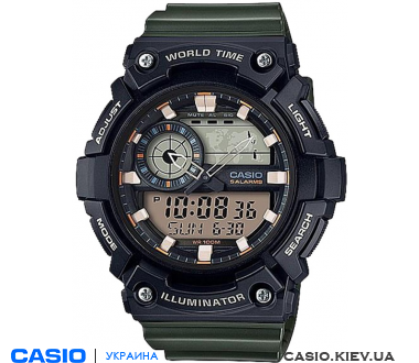 AEQ-200W-3AVEF, Casio Combination