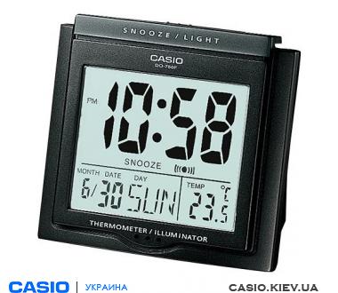 Будильник Casio DQ-750F-1DF