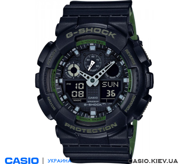 GA-100L-1AER, Casio G-Shock