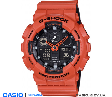 GA-100L-4A, Casio G-Shock