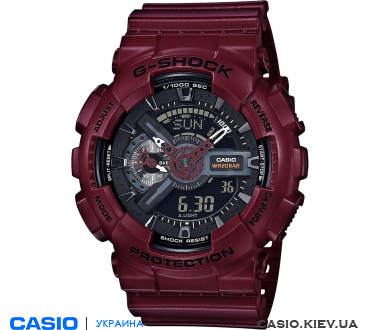 GA-110EW-4A, Casio G-Shock