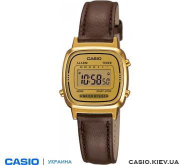 LA670WEGL-9EF, Casio Standard Digital