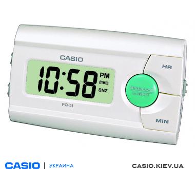 Часы настольные Casio PQ-31-7EF