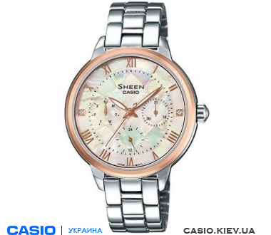 SHE-3055SG-7AUER, Casio Sheen