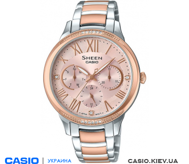 SHE-3058SPG-4AUER, Casio Sheen