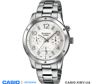 SHE-3807D-7AUER, Casio Sheen