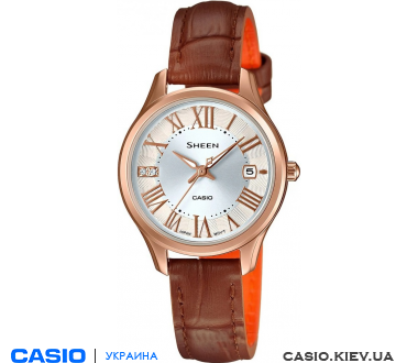 SHE-4050PGL-7AUER, Casio Sheen