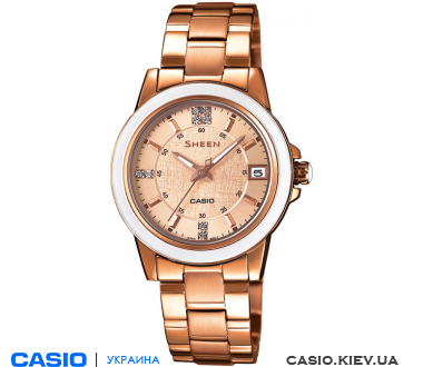 SHE-4512PG-9AUER, Casio Sheen