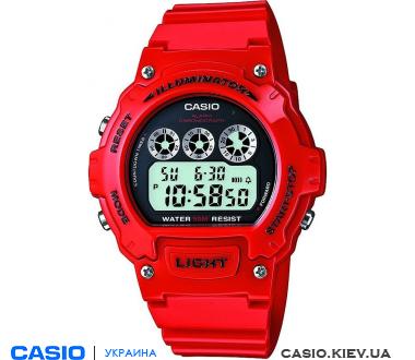 W-214HC-4AVCF, Casio Standard Digital