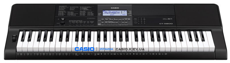 Синтезатор Casio CT-X800C7