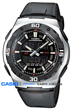 AQ-164W-1AVEF, Casio Combination