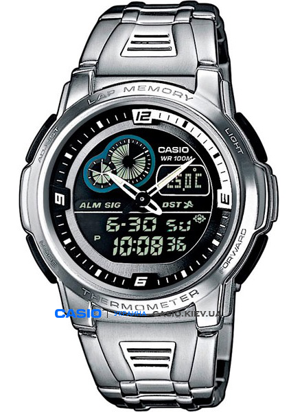 AQF-102WD-1BVEF, Casio Combination