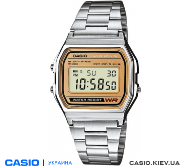 A158WEA-9EF, Casio Standard Digital