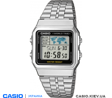 A500WEA-1EF, Casio Standard Digital