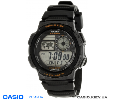 AE-1000W-1AVEF, Casio Standard Digital