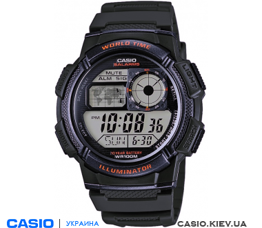 AE-1000W-3AVEF, Casio Standard Digital