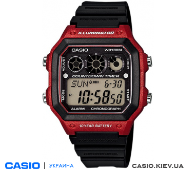 AE-1300WH-4AVEF, Casio Standard Digital