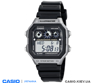 AE-1300WH-8A (А), Casio Standard Digital