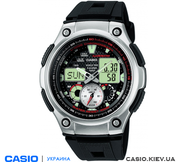 AQ-190W-1AVEF, Casio Combination
