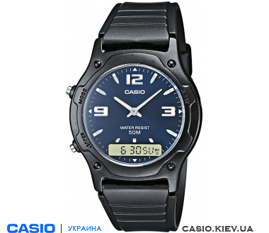 AW-49HE-2AVEF, Casio Combination