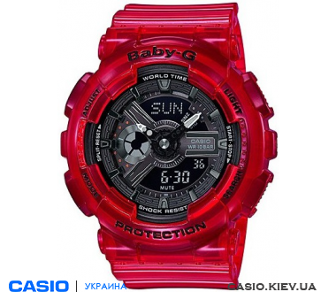 BA-110CR-4AER, Casio Baby-G