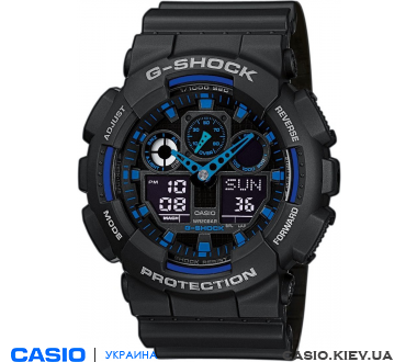 GA-100-1A2ER, Casio G-Shock
