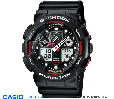 GA-100-1A4ER, Casio G-Shock